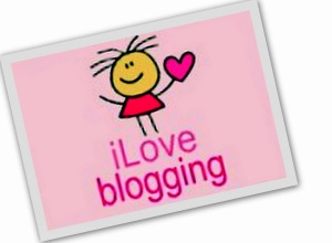 Cute I love blogging