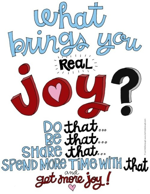 whatbringsyourealjoy