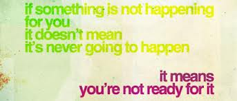 if something is not happening quote
