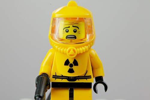 radioactive legoman in suite
