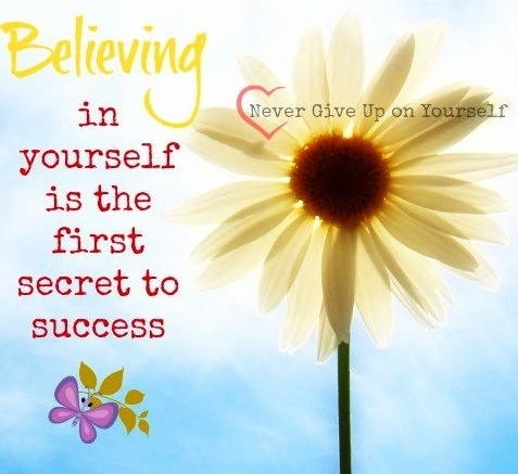 Believing in Yourself quote