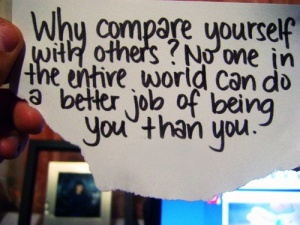 why-compare-yourself-to-others-quote